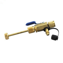 """Yellow Jacket 18975 1//4/"""" Ball Valve 4 In 1 Vacuum Charge Valve /& Core Tool for sale online"""